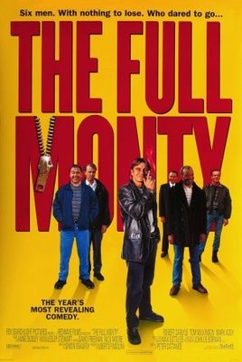 The Full Monty (1997) movie #poster, #tshirt, #mousepad, #movieposters2