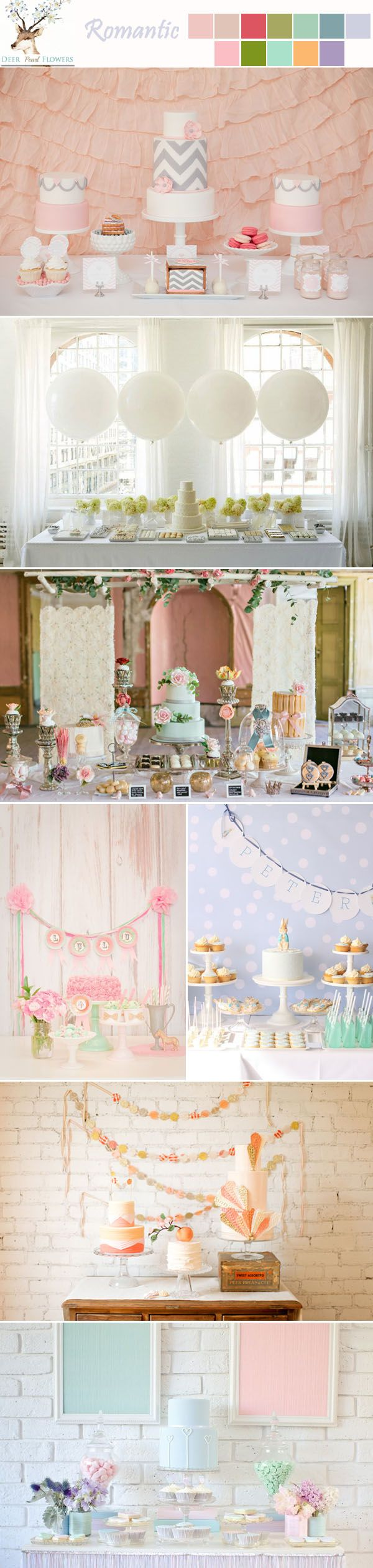 Light blue wedding decoration ideas  Best  Wedding deco ideas images on Pinterest  Candy stations