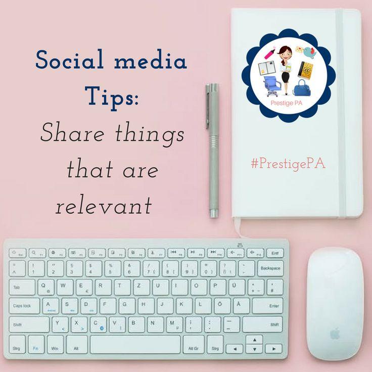 Social media tips http://www.prestige-pa.com