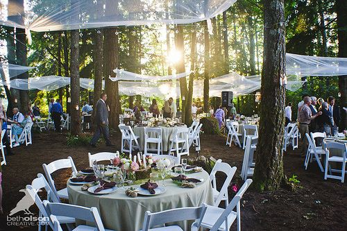 Outdoor Forest Wedding | Best Seattle Wedding Locations and Venues
