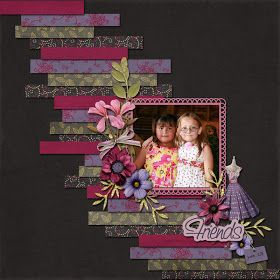 Great idea for a scrapbooking layout from http://ideasforscrapbookers.blogspot.com/!