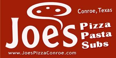 Joe's Pizza in Conroe Texas
