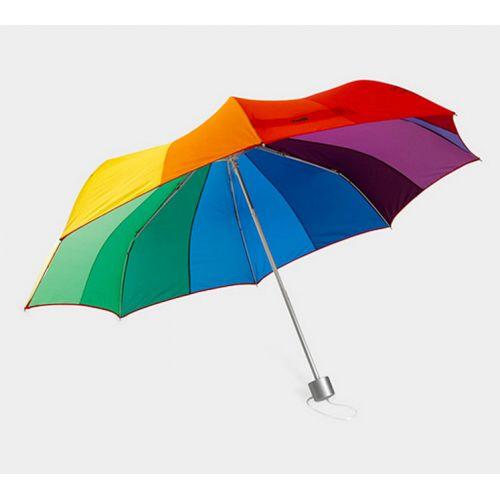 Un joli #parapluie arc-en-ciel pour égayer les jours de #pluie ! Prix 37,90 euros TTC #arcenciel