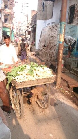 The streets of Benares