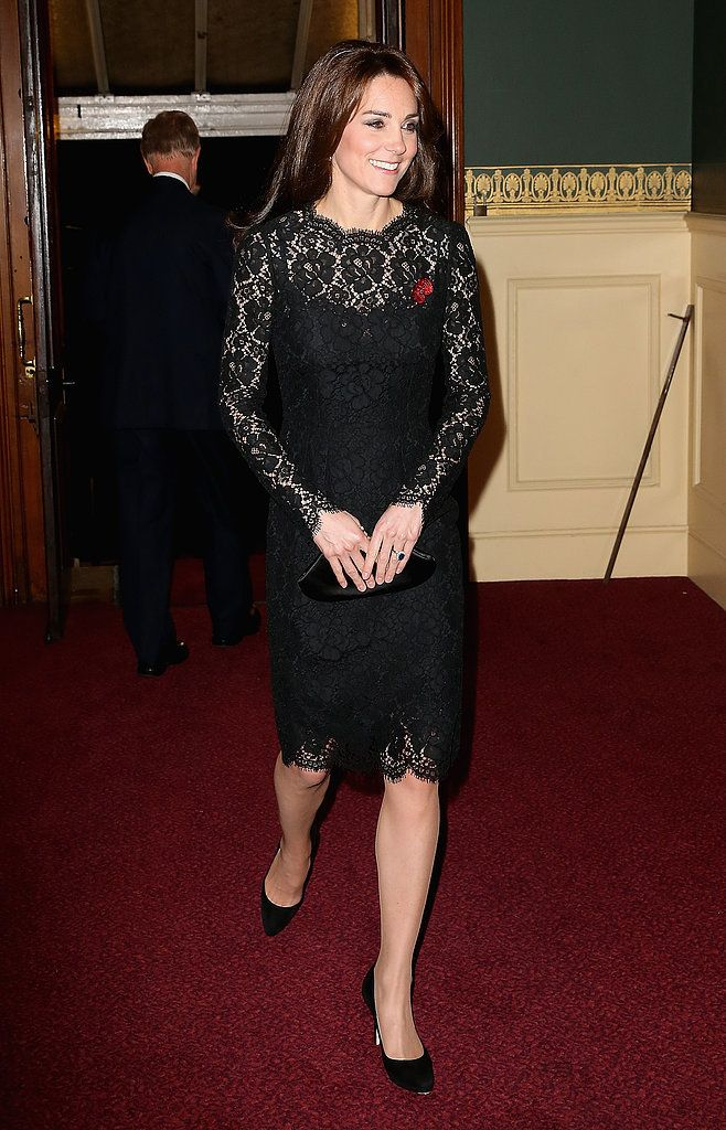 Prince William and Kate Middleton on Remembrance Day 2015 | POPSUGAR Celebrity