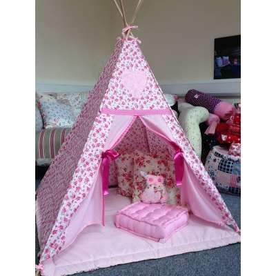 Pink Fairy Rose - Midi Childrenu0027s Teepee - Just For Tiny People - Handmade Childrenu0027s Teepees Accessories Wooden Toys Fairy doors and more!  sc 1 st  Pinterest & 153 best Teepee Tent ? images on Pinterest   Tents Teepee tent ...