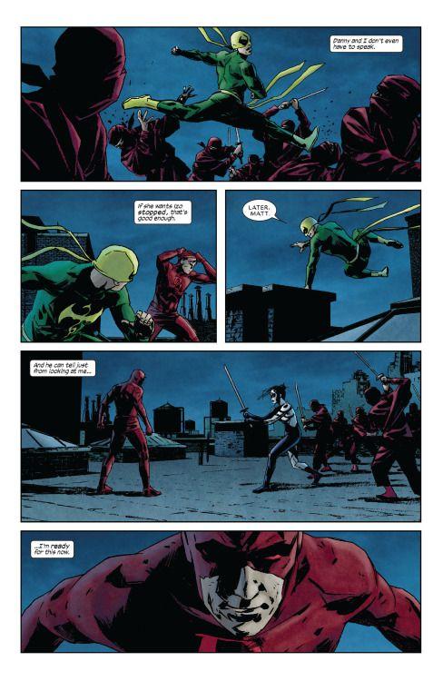 Iron Fist in Daredevil Vol 2 #115