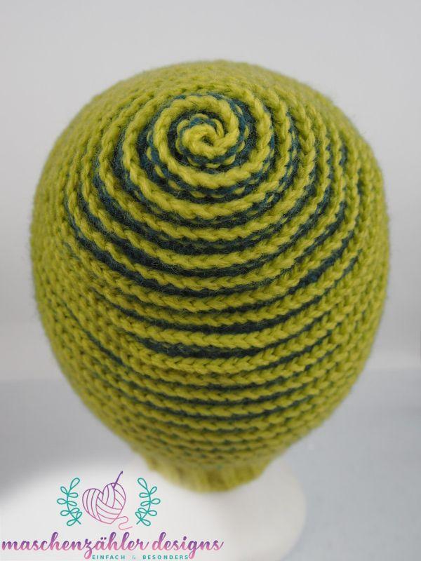Häkelanleitung Spiralmütze Charybdis Version 1 Die Spirale Von