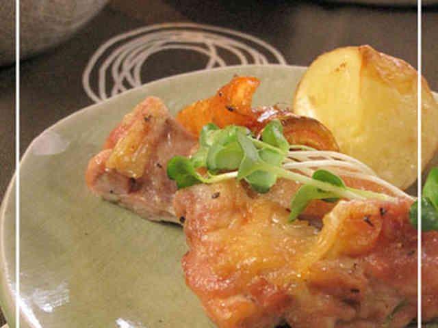 簡単!!鶏もも肉のオーブン焼きの画像