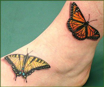 7d66705a2 Tiger swallowtail and monarch, both of my favorite butterflies for tattoo  ideas. | ~Tattoos~ | Monarch tattoo, Butterfly ankle tattoos, Yellow  butterfly ...