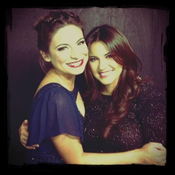 Two of my biggest inspirations...Ana Brenda and Maite Perroni ♥