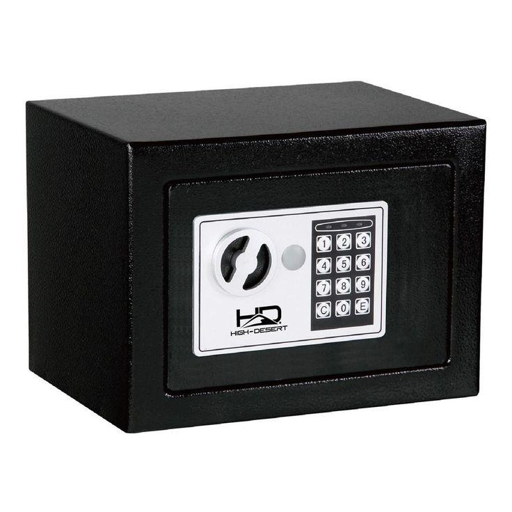 0.19 cu. ft. Electronic Digital Safe, Black