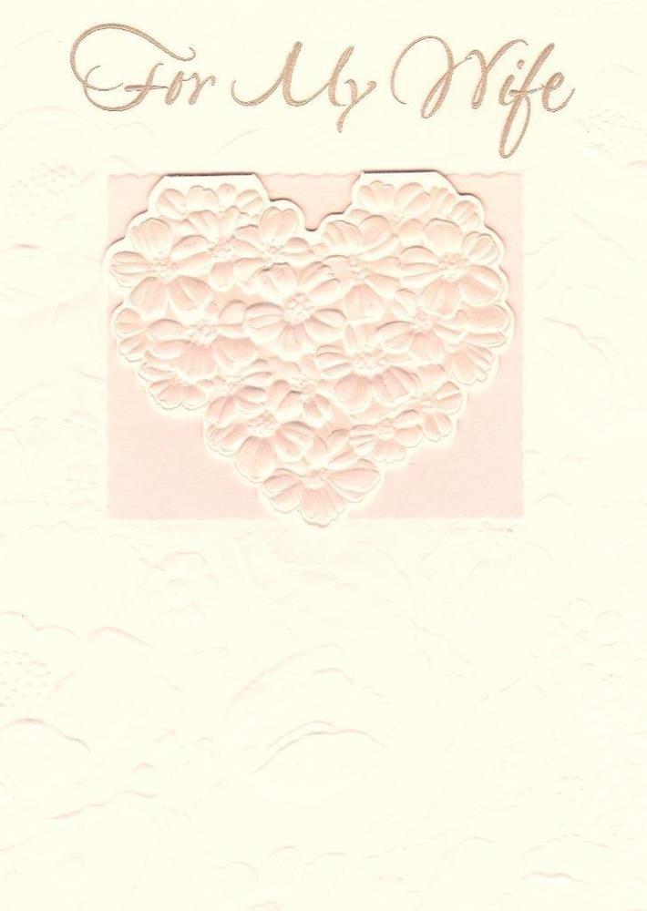 wedding anniversary greeting cardhusband%0A Anniversary Greeting Card  For My Wife
