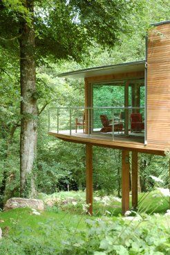 Home office 'Treehouse' in forest on edge of Dartmoor