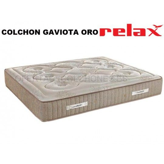Colchón Gaviota Oro Muelles Ensacados de Relax