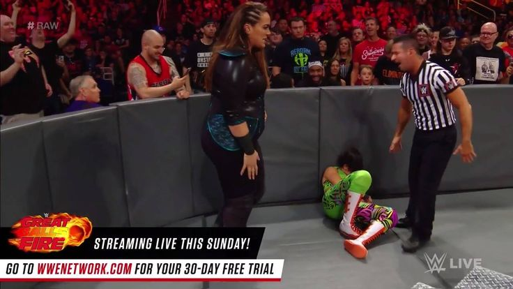 Nia Jax is in NO MOOD for a hug as she DOMINATES both Bayley and Sasha Banks on WWE Raw!