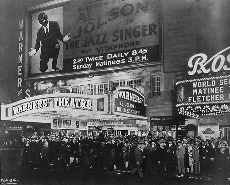 The Jazz Singer: Ninety years of talking pictures