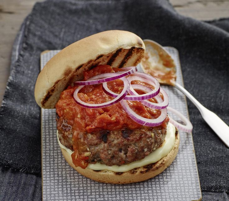 Burger all Amatriciana
