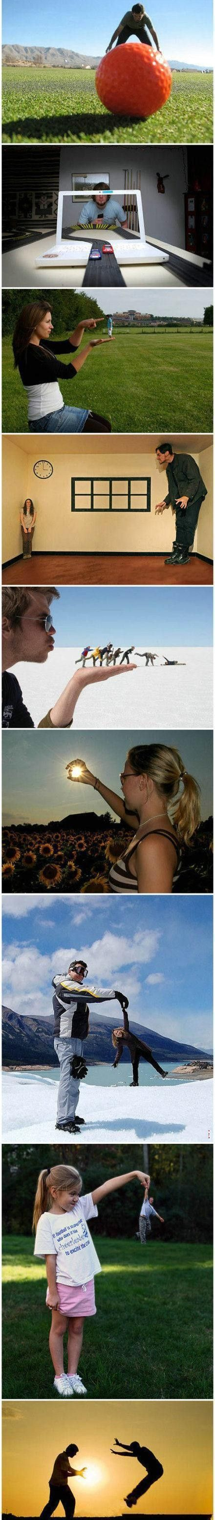 9 perspective photos