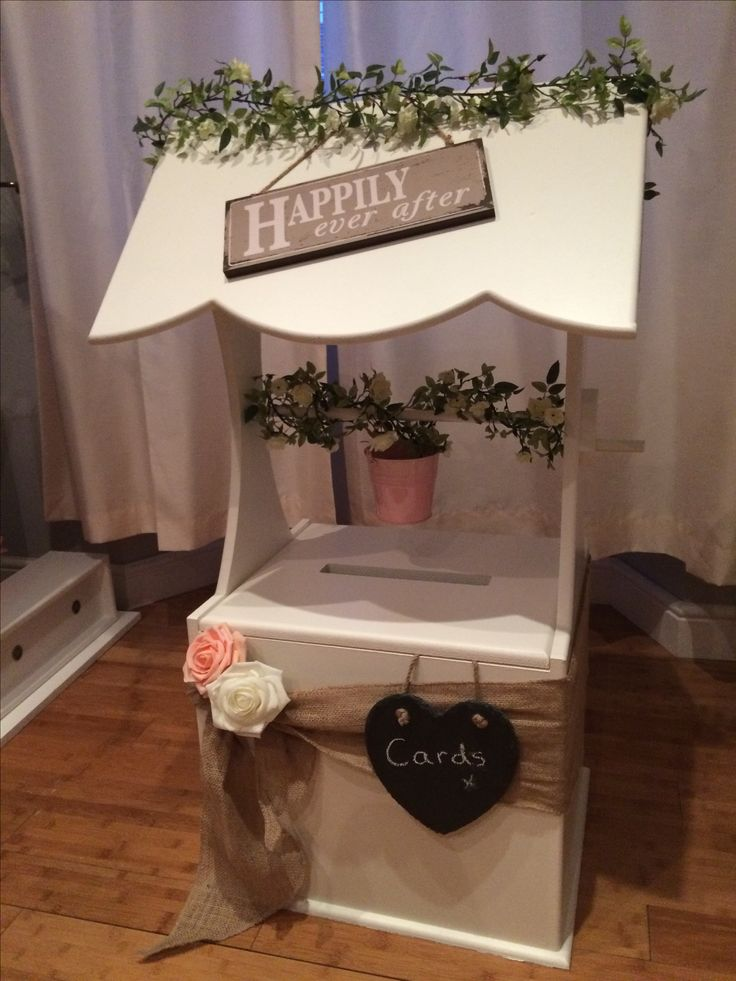 Rustic Themed Wedding Wishing Well Post Box Hire In South Wales From Www Affinityeventdecorators