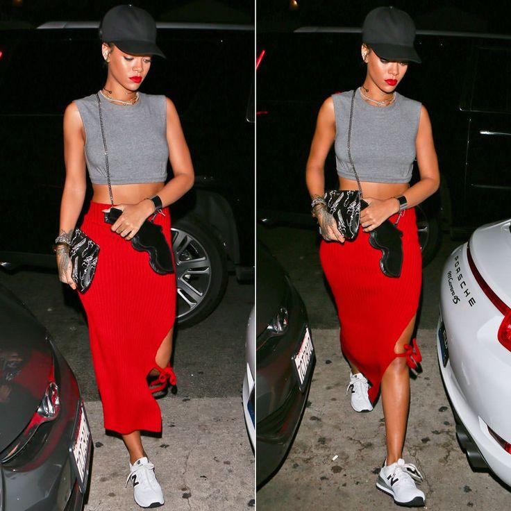 #Rihanna porte une pochette #SaintLaurent: http://wp.me/p4Ngzk-zU