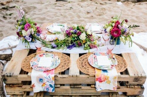 Intimate And Colorful Boho Seaside Wedding ceremony Inspiration | Wedding