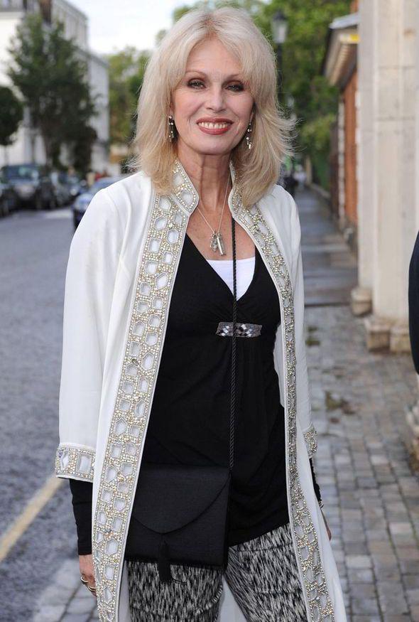 Joanna Lumley.