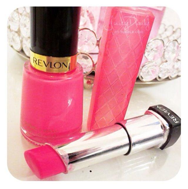Revlon - pink!