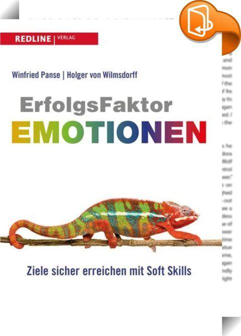 Erfolgsfaktor Emotionen    :  Jede menschliche Beziehung, ob privat oder beruflich, ob in der persönlichen Begegnung oder am Telefon, wird von positiven Emotionen zwischen den Beteiligten getragen und gefördert. Dieser Erkenntnis liegt eine über 20-jährige Langzeitstudie zugrunde, die an der Fachhochschule Köln zum Thema Ökonomie von Emotionen durchgeführt wurde. Die Autoren haben das Modell des Emotionalen Quotienten (EQu) in der Praxis erprobt, weiterentwickelt und ihre Resultate hie...