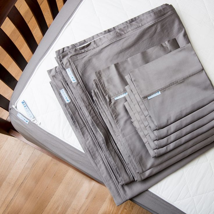 To get started with our 400-thread-count QuickZip, you'll need a Base and at least one Zip-On Sheet. These come with all of our Starter Packs.  Our 400-thread-c