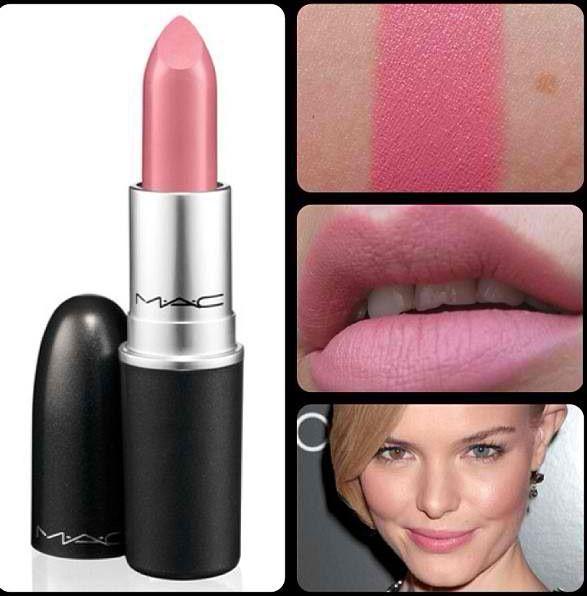 Mac Matte Lipstick Please Me Neutral Light Pink Peach ... |Light Pink Lipstick Mac