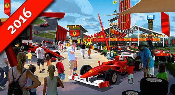 Mivel az Abu Dzabiban működő Ferrari World vidámpark nagyon szép eredményeket hoz, építenek egy újabb Ferrari kalandparkot. A 20 éves fennállását ünneplő spanyolországi PortAventura szórakoztatóközpontban komoly befektetéseket eszközölnek – ezek egyike a 100 millió eurós költséggel felépülő Fe