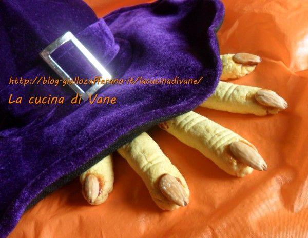 Dita della strega | Ricetta Halloween
