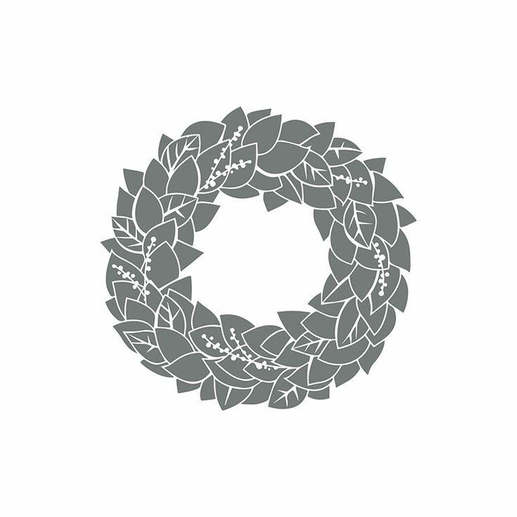 My Digital Studio | Wonderful Wreath Stamp Brush Set (item #136530)