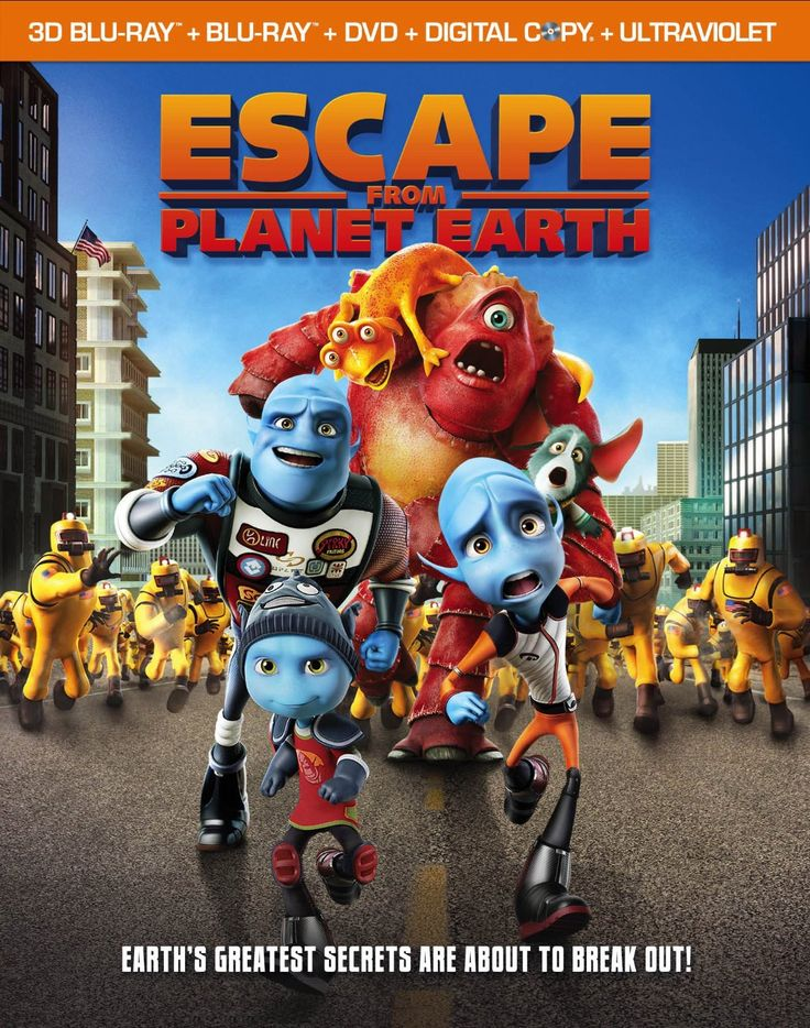 "#GIVEAWAY: Win DVD ""Escape From Planet Earth"" @Leigh Clark (Ends 6/21)"