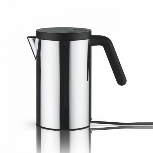 Elektrischer Wasserkocher schwarz 0,8l von Alessi