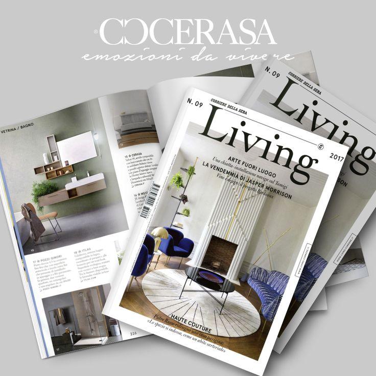 Living Corriere della Sera - Settembre 2017  #press #release #magazine #newspaper