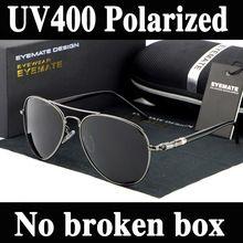 Diseñador de la marca polarizadas fresco aviatation Oculos moda hombre gafas de sol UV mujeres vidrios de sol para hombre pesca gafas(China (Mainland))