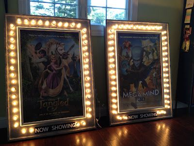 diy movie theater posters