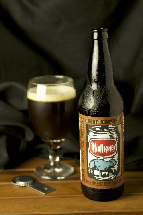 Mudhoney from Burnt Hickory Brewery. From Grunge music to brown ale.