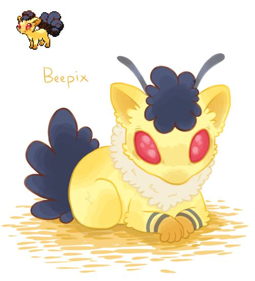 (100+) pokemon fusion | Tumblr
