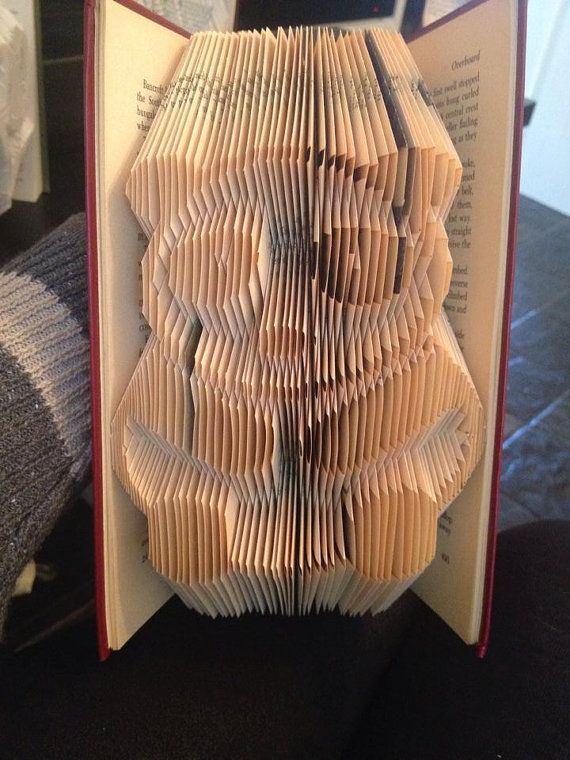 Hey, I found this really awesome Etsy listing at https://www.etsy.com/listing/204799816/book-folding-pattern-for-a-panda-free