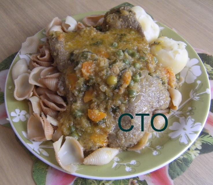 Recetas de comida Boliviana: FALSO CONEJO