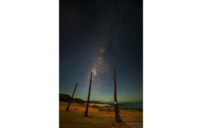 Fotos captam as 'espetaculares noites estreladas' do Havaí By: Rogelio
