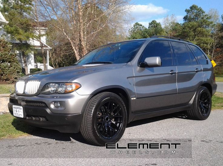 Avant Garde M359 Wheels Black on 2006 BMW X5