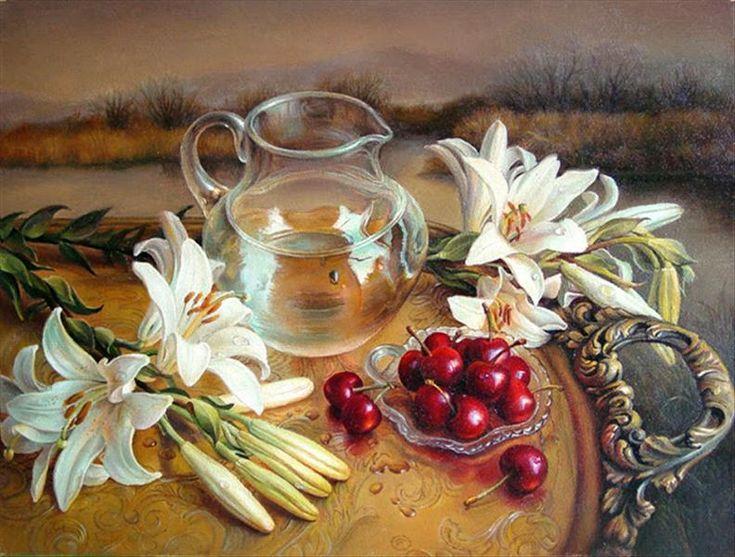 Still Life Oil Paintings By Maria Ilieva