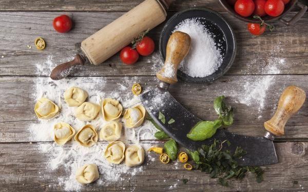 Cómo hacer pasta fresca rellena