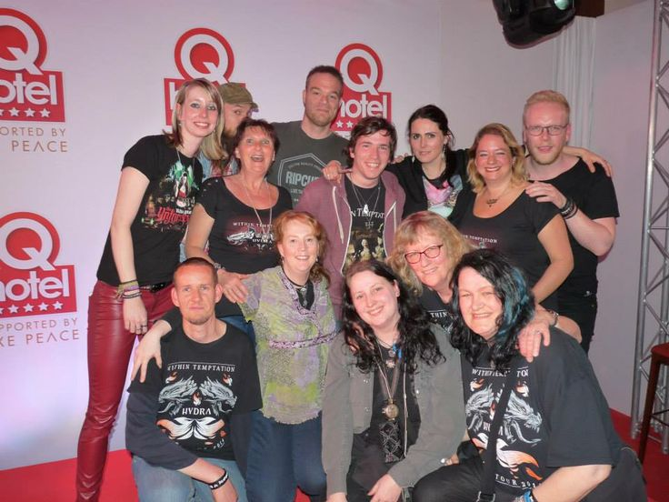 mooie groepsfoto van WTFB