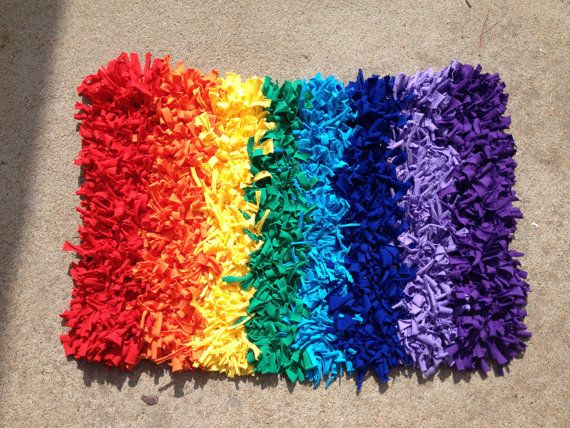 34 Best Images About Rag Rugs On Pinterest