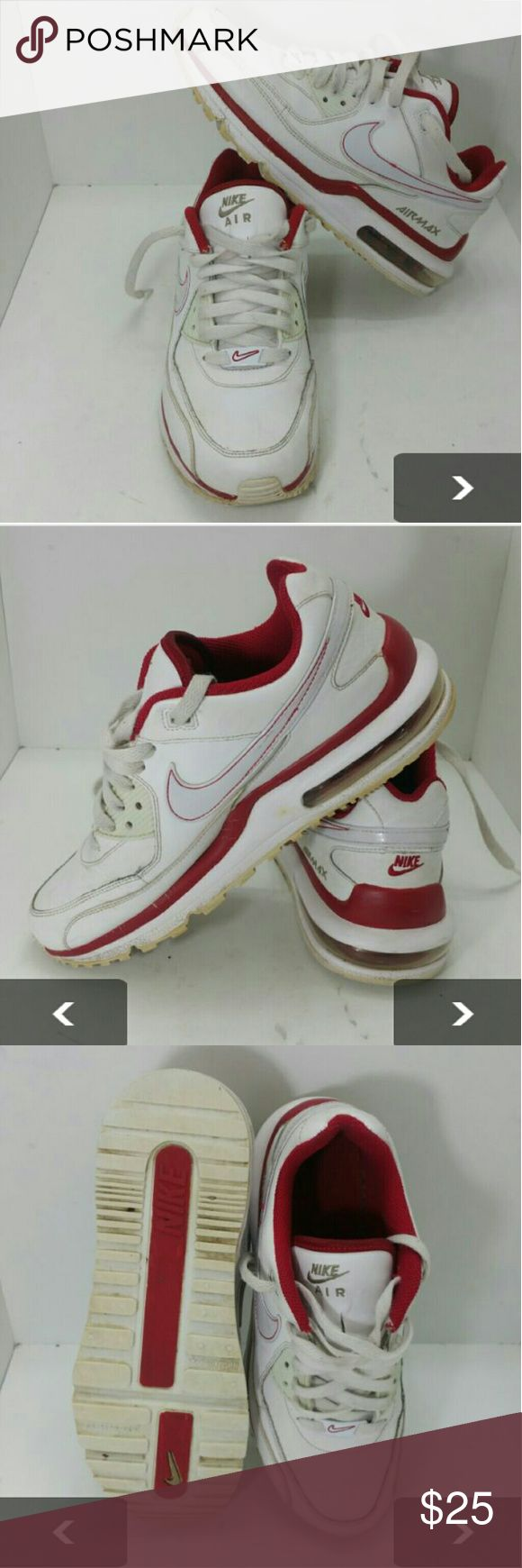 wholesale dealer 95709 9a1a1 ... NIKE AIR MAX WRIGHT LTD WOMEN   YOUTH SHOES VERY CLEAN WITH MINOR  SCUFFS ON THE ...